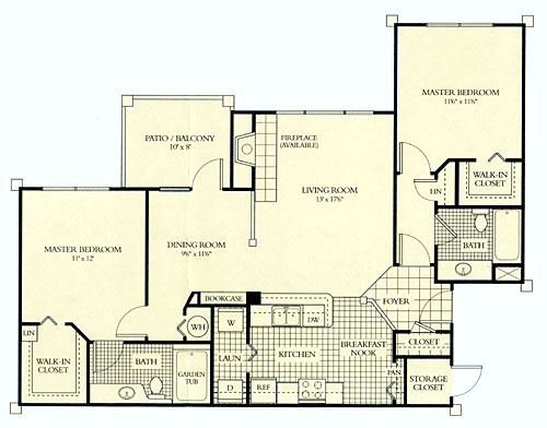 Juniper floor plan the tradition apartments for Juniper floor plan